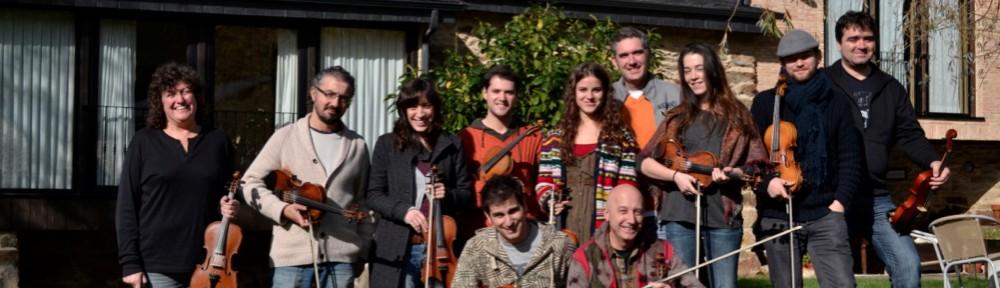 Curso violín tradicional en Trives